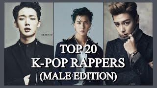 My Top 20 male K-pop rappers (2016)