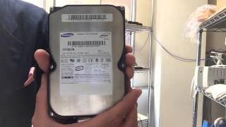 SUMSUNG SP0802N ファームウェア不具合修正データ救出成功 10万円以内の費用