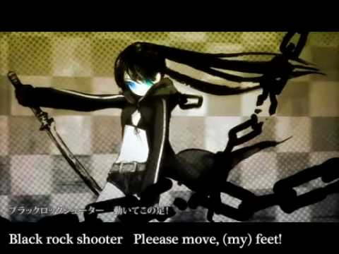 "Miku's ""BLACK ROCK SHOOTER"" with English Lyric"