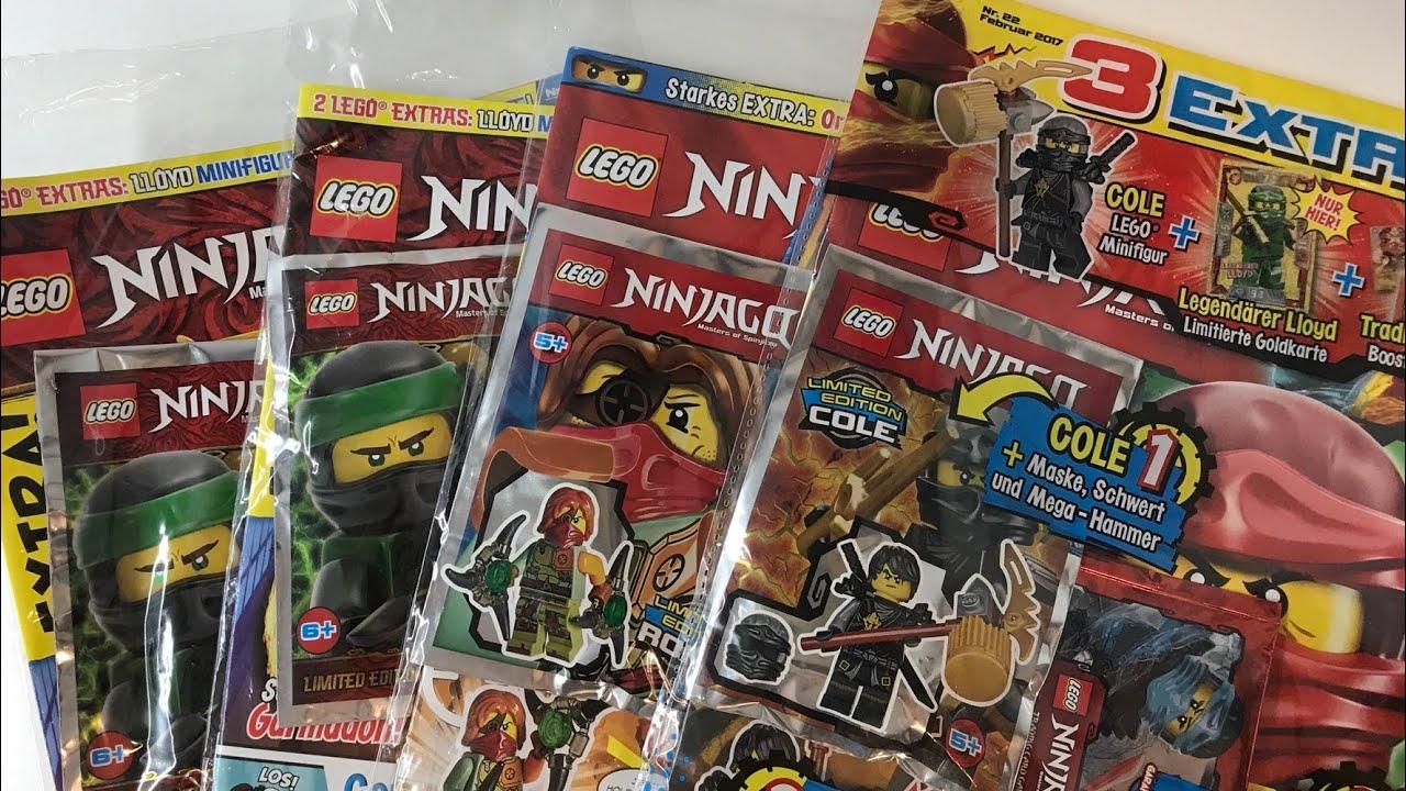 Magazin Nr LEGO Ninjago Legacy 1 mit Garmadon und Limitierte Karte