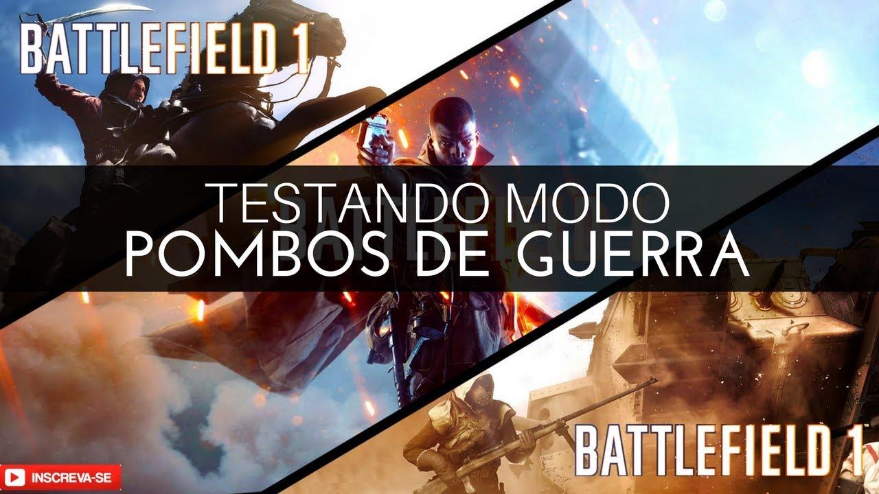 BATTLEFIELD 1 - Primeira Vez No Modo Pombos De Guerra [Multiplayer]