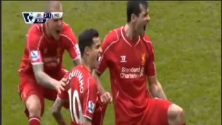 Liverpool vs Manchester City 2 1 2015 All Goals & Highlights 01 03 2015
