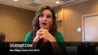 Katherine Barrell WYNONNA EARP Comic Con 2018 Interview