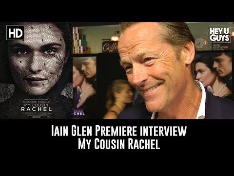 Iain Glen Premiere Interview - My Cousin Rachel