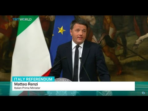 Italy Referendum: PM Renzi resigns after referendum defeat