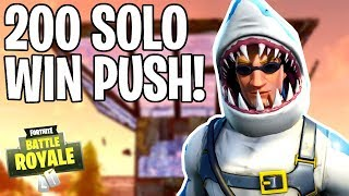 PUSH ZU 200 SOLO DUBS! 355+ SIEGE | 2000 VBUCK GIVEAWAY! PS4 Pro | Fortnite Battle Royale