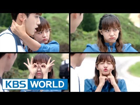 """[1Click Scene] KimSejeong & Kim Junghyun """"That's The Truth I Learned In School"""" (School 2017 Ep.16)"""