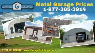 Metal Garage Kits   Metal Carport Garage   Garagebuildings.com