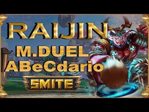 SMITE! Raijin, El early no es lo suyo :D! Master Duel Abecedario #60