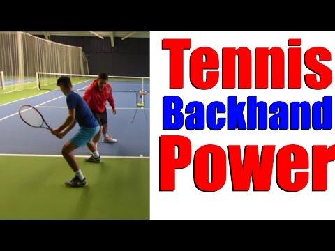 Tennis Backhand Power Drills - Top Tennis Training