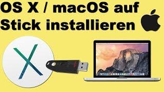 macOS / OS X auf USB Stick installieren