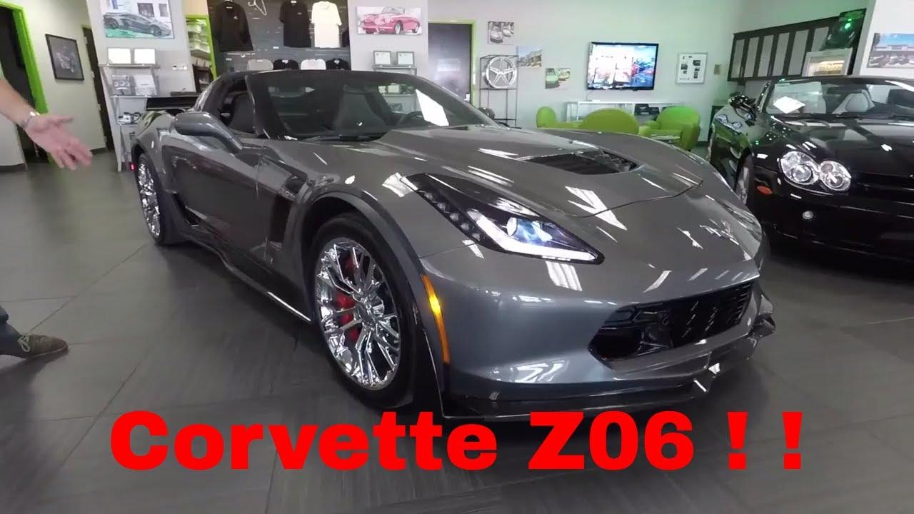 2016 Chevrolet Corvette Z06 W Z07 Performance Package
