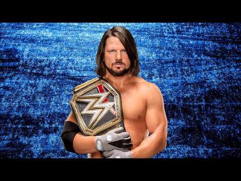 WWE: AJ Styles Theme Song Phenomenal V2 + Arena Effects