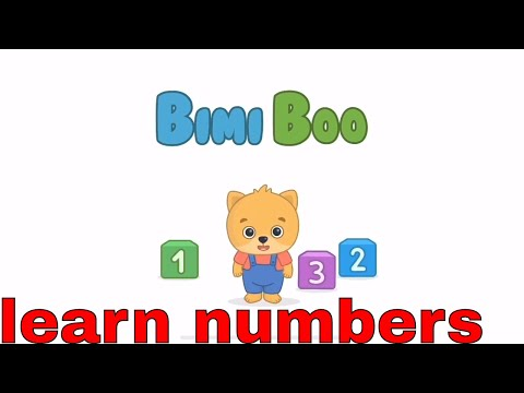 123 Learning Game For Kids | Numbers 1 - 20 | Educational Video To Watch And Learn | Bimi Boo App