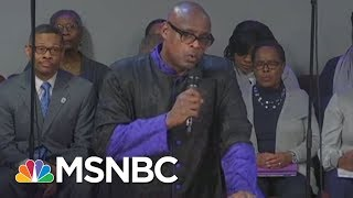 With Mike Pence In Front Row, Pastor Rips Into Donald Trump | All In | MSNBC