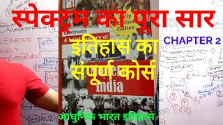 2 MODERN INDIAN HISTORY SPECTRUM SUMMARY GK TRICKS LECTURE UPSC UPPSC IAS PCS SSC