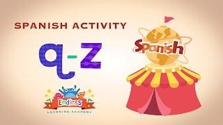 Endless Spanish Q-Z