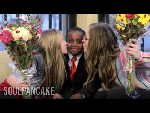 Meeting Lennon & Maisy | Kid President BONUS