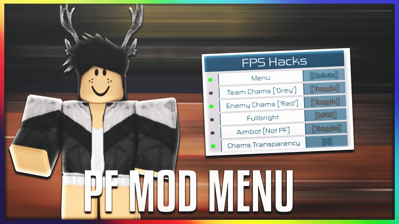 Roblox Phantom Forces Mod Menu Aimbot Chams Wallhack And