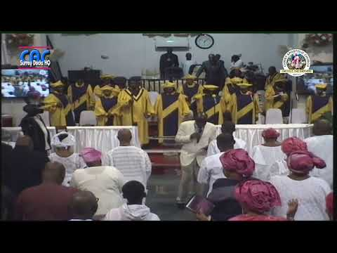 Services of Songs - Mrs Deborah Omolola Ayeni