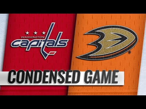 02/17/19 Condensed Game: Capitals @ Ducks