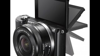 Sony a5000/ILCE-5000L Unboxing