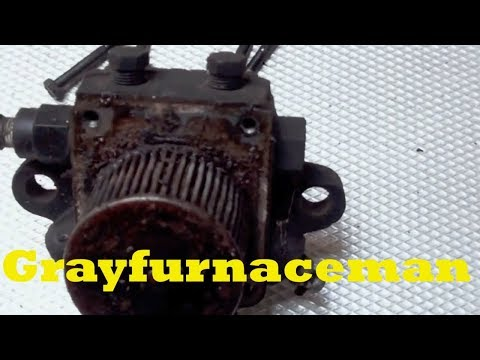 A look at an oil burner pump failure and the reason for the failure.