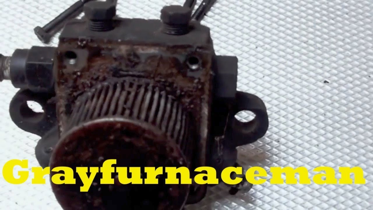 A Look At An Oil Burner Pump Failure And The Reason For Furnace Wiring Diagram Older