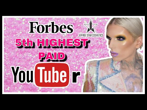 Jeffree Star 5th HIGHEST PAID YOUTUBER | His Thoughts | YOU NEED TO WATCH THIS ? thumbnail