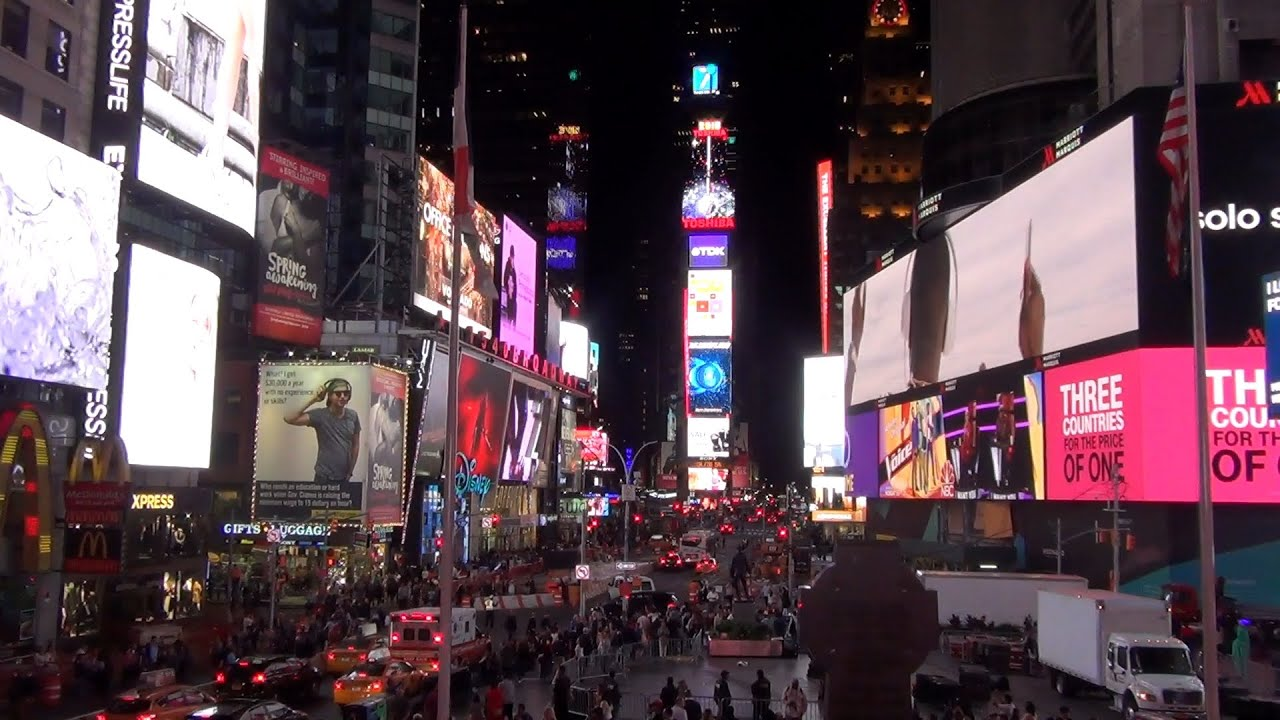 Image result for times square at night photos