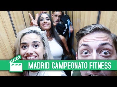 CAMPEONATO ESPAÑA FITNESS + VLOG MADRID