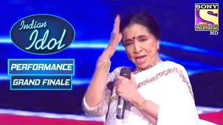 Asha जी ने दिया Finale में एक खूबसूरत Performance | Indian Idol Season 6 | Grand Finale