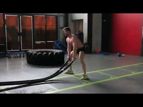 HIIT Workout #1 - Crossfit At Raw