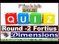 #Dimensions #Coaching #Center #English #Quiz #Round 2 #Fortius