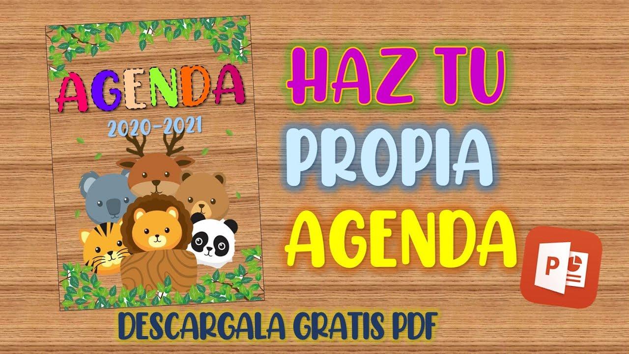 Agenda Escolar 2020 2021 En Powerpoint Descarga Gratis Pdf Youtube