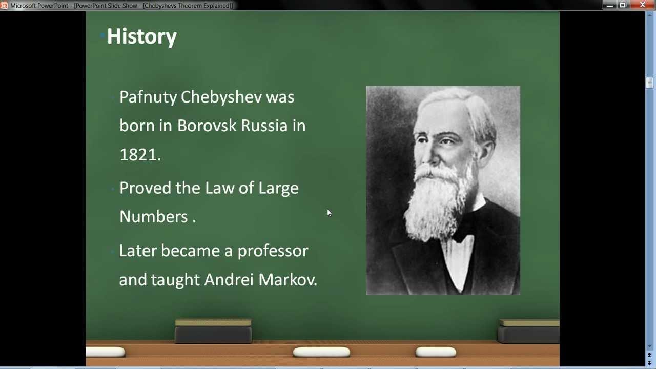 Chebyshev's Theorem EXPLAINED - YouTube