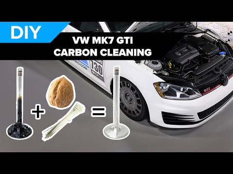 Carbon Cleaning - How to Scrape and Walnut Blast your Intake Valves - MK7 VW GTI