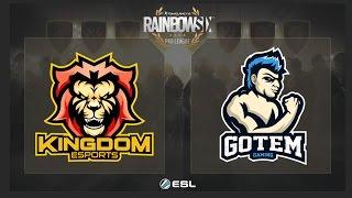 Kingdom eSports vs. Got em Gaming - Rainbow Six Pro League on PC - NA - Play Day 1