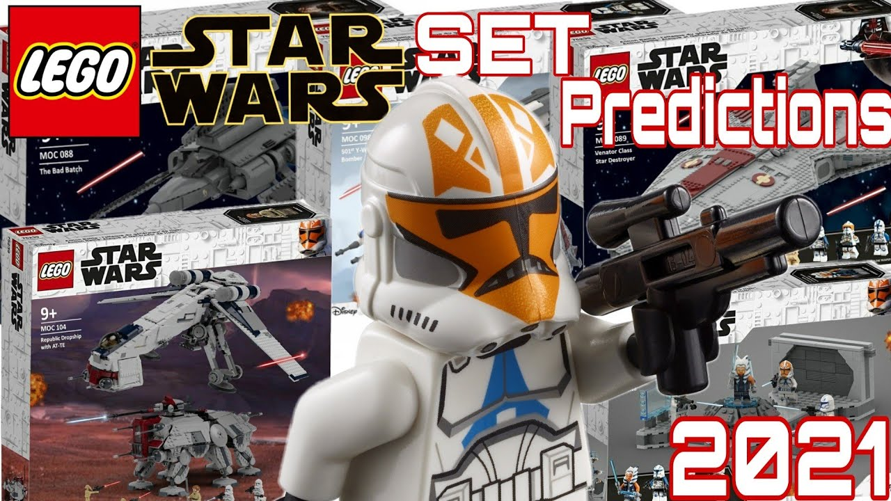 My LEGO Star Wars 2021 Set Predictions | The Clone Wars