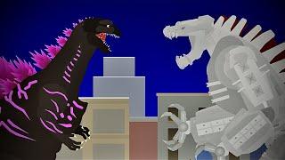 Shin Godzilla vs MechaGodzilla