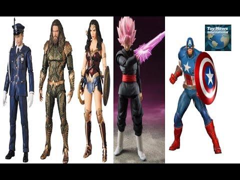 TNI: SHFiguarts Dragon Ball Black Goku, MAFEX Joker Cop, Wonder Woman, Aquaman & More