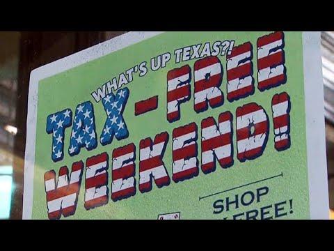 Texas Tax-Free Weekend Is Now Underway