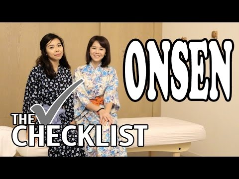 EP5 THE CHECKLIST - Onsen SPA in Singapore