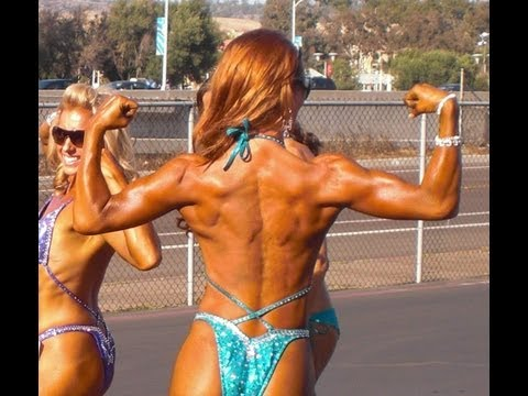 NPC Figure Competition with Fitness Model Emily Reynolds