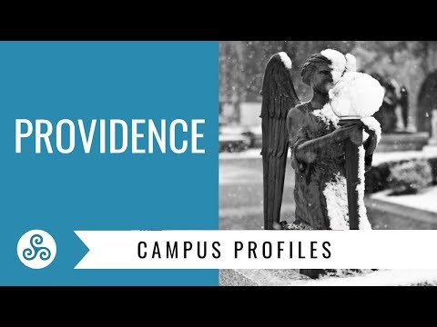 Providence College - Providence R.I. - campus tour with American College Strategies
