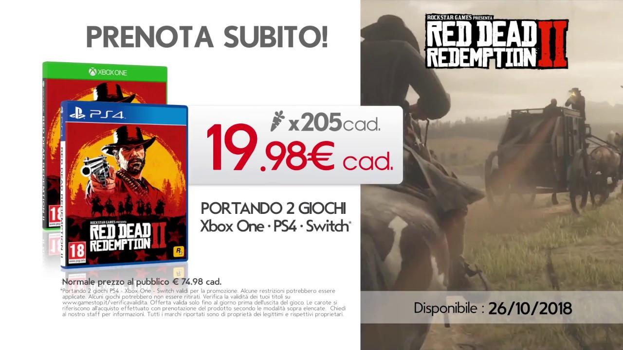 red dead redemption 2 ps4 prezzo