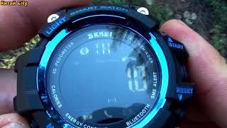 SKMEI 1227 Smart Watch - Тест часов на пройденное расстояние !!!
