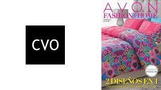 Catálogo AVON México Fashion & Home Campaña 8 de 2018