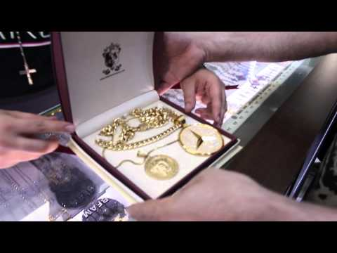 Rick Ross visits his Jewelers at Rafaello&Co