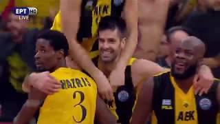 Μονακό - ΑΕΚ 94-100 (6/5/2018) Στιγμιότυπα | Basketball Champions League Final 2018